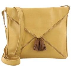 Hermes Tassel Envelope Crossbody Bag Leather Small