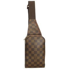 Louis Vuitton Brown Damier Ebene Geronimos