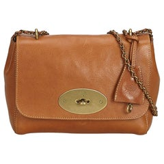 Mulberry Brown Leather Lily