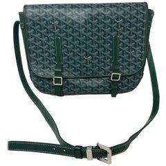Goyard Green Crossbody Bag