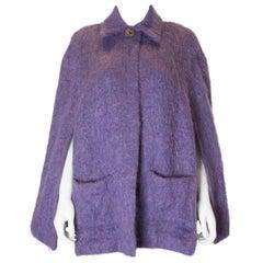 Vintage Lavender Mohair Cape