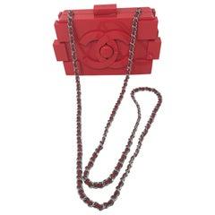 Chanel Red Lego Clutch