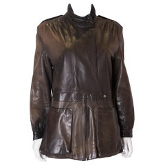 Vintage Leather Jacket with Great Detail