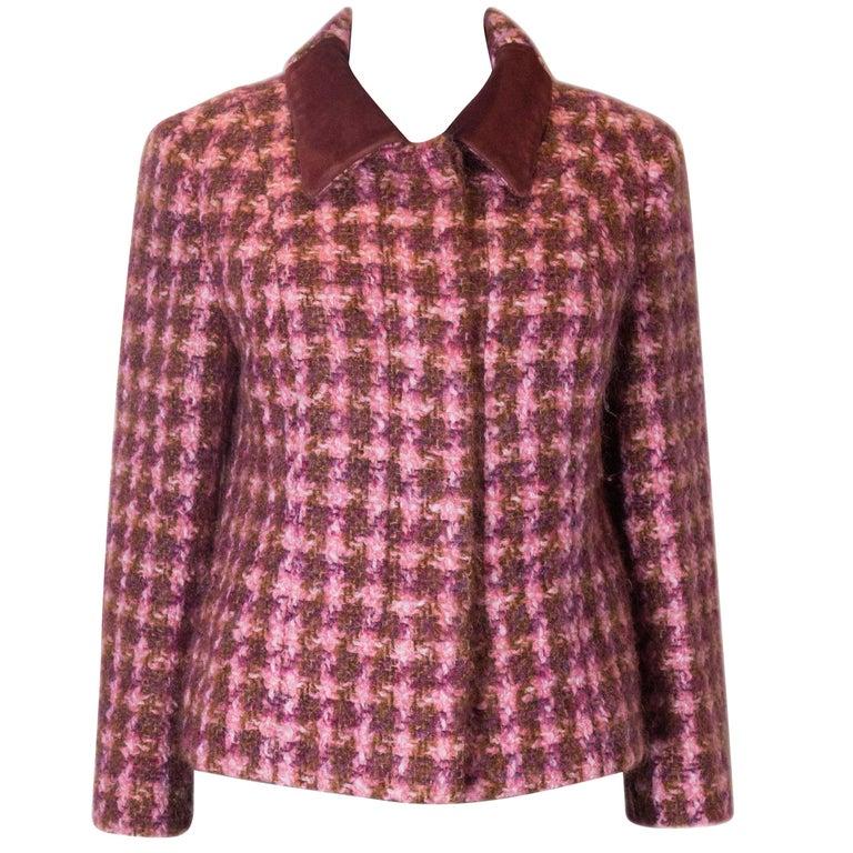 Vintage Jean Patou  Wool Jacket For Sale