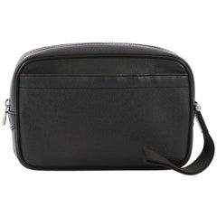 Louis Vuitton Kaluga Pochette Clutch Taiga Leather