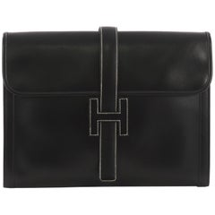 Hermes Jige Clutch Box Calf GM