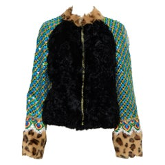 Manoush Multi Color, Fabrics & Furs Jacket