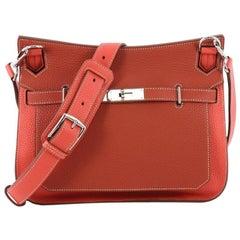 Hermes Bicolor Jypsiere Handbag Clemence 28