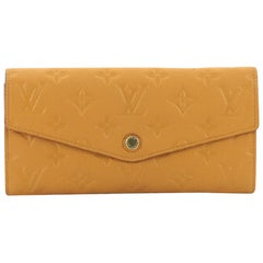 Louis Vuitton Curieuse Wallet Monogram Empreinte Leather