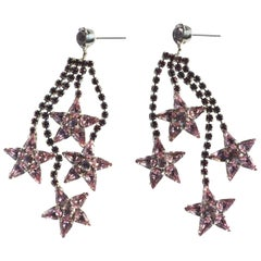 Lilac Cassiopeia Earring
