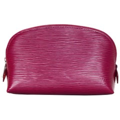 Louis Vuitton 2017 Fuchsia Pink Epi Leather Cosmetic Pouch