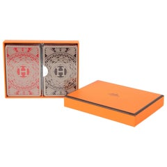 Hermes Playing Cards Les 4 Mondes Set 2 Decks New