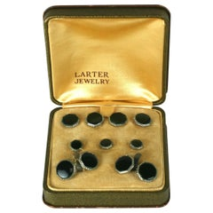Larter Art Deco Stud Set