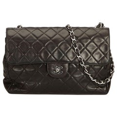 Chanel Black Jumbo Classic Single Flap Bag