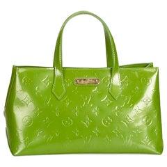 Louis Vuitton Green Vernis Wilshire PM