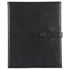 Prada Black Saffiano Leather Notebook Cover Holder