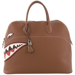 Hermes Limited Edition Shark Bolide Togo 45