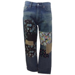 Junya Watanabe Denim Patch Jeans