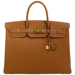 Hermès Birkin 40 HSS Horseshoe Gold Epsom GHW