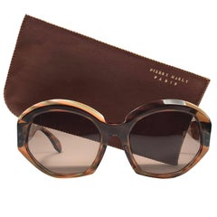 "New Vintage Rare Pierre Marly "" Penela "" Avantgarde 1960 Sunglasses"