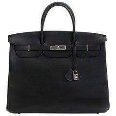 Hermès Birkin 40cm Black Togo PHW
