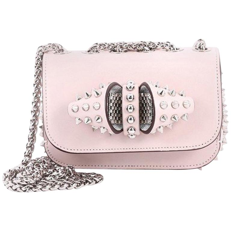 a773dc13740d Christian Louboutin Sweet Charity Crossbody Bag Spiked Leather Baby For Sale