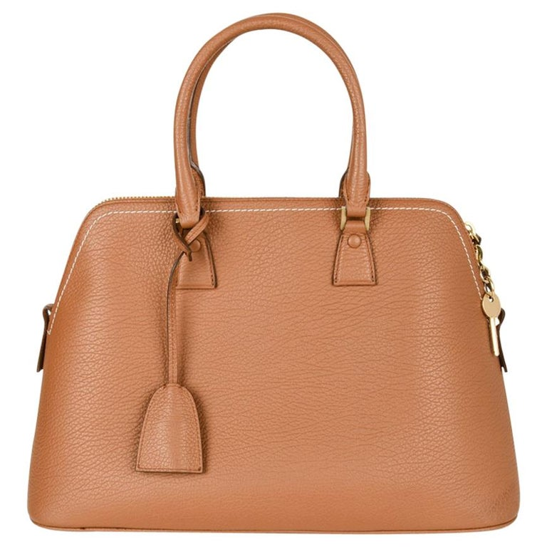 Maison Margiela Bag 11 British Racing Tan Tote  For Sale