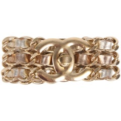 Chanel CC Turnlock Bracelet - gold