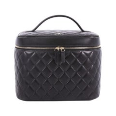 Chanel Cosmetic Case Quilted Lambskin Medium