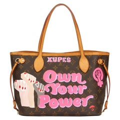 Louis Vuitton Xupes X Year Zero London Hand-painted Own Your Power Neverfull PM