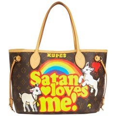 Louis Vuitton Xupes X Year Zero London 'Satan Loves Me' Neverfull PM