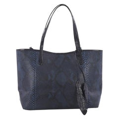 Nancy Gonzalez Erica Tote Python with Crocodile Large