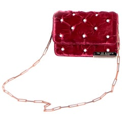 Benedetta Bruzziches French Victorian Influenced Tufted Shoulder Bag