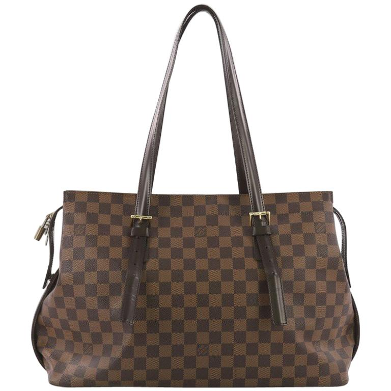 20a78e90e80f Louis Vuitton Chelsea Handbag Damier at 1stdibs