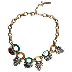 Oscar de la Renta Deco Necklace