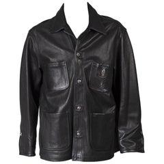 Chrome Hearts Fleur De Lis Leather Jacket