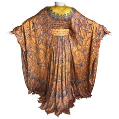 Alexander McQueen Spring 2011 Embellished Paisley Silk Caftan New Tags