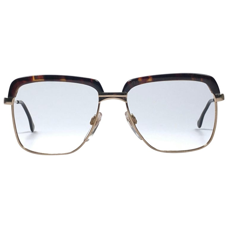 c75e0b6918 Vintage Köln Optik Genuine Tortoiseshell and Gold Frame RX Reading Koln  Glasses For Sale at 1stdibs