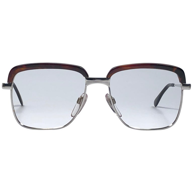 c9a1efa739 Vintage Köln Optik Genuine Tortoiseshell and Silver Frame RX Reading Koln  Glasses For Sale at 1stdibs
