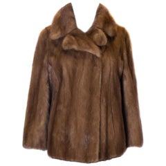 A vintage 1960s Mink Jacket