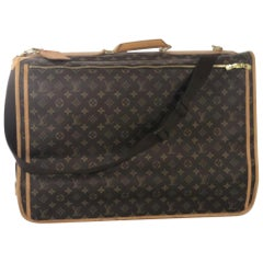 Louis Vuitton Monogram Portable Cabine Garment Cover Travel Handbag