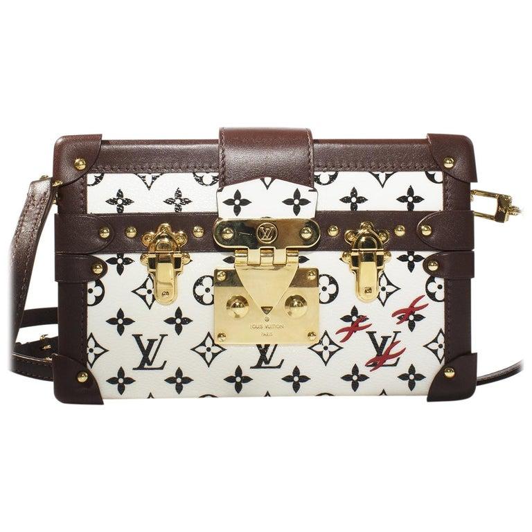 d0f083e5703a Louis Vuitton LV Monogram Petite Malle Box Bag