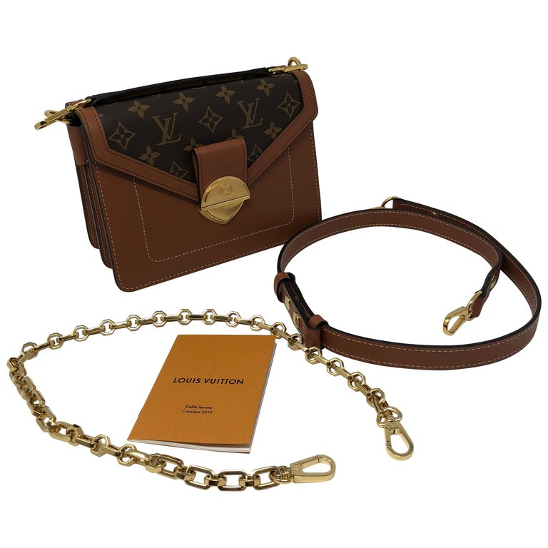 c97b10efbf52 ... PursesCrossbody Bags and Messenger Bags. Louis Vuitton Runway 2019  Reverse Handle  Mono Leather Bag For Sale