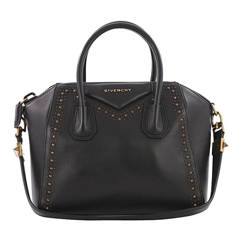 e4570e7dfe7 Givenchy Antigona Bag Studded Leather Small at 1stdibs