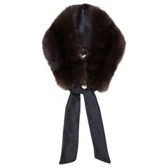 Verheyen London Circle Stand up Collar in Natural Barguzinsky Sable Fur