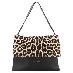 Celine All Soft Tote Printed Pony Hair with Leather