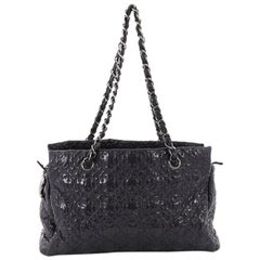 Chanel Rock in Moscow Zip Tote Patent Vinyl Medium