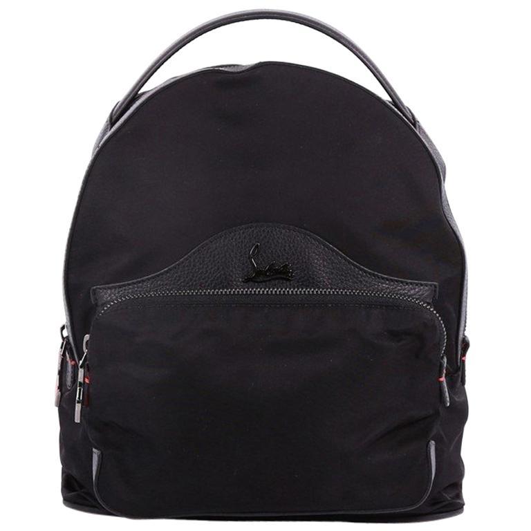 fbc417e75a Christian Louboutin Backloubi Backpack Nylon Small at 1stdibs