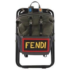 Fendi Vocabulary Camping Backpack Nylon
