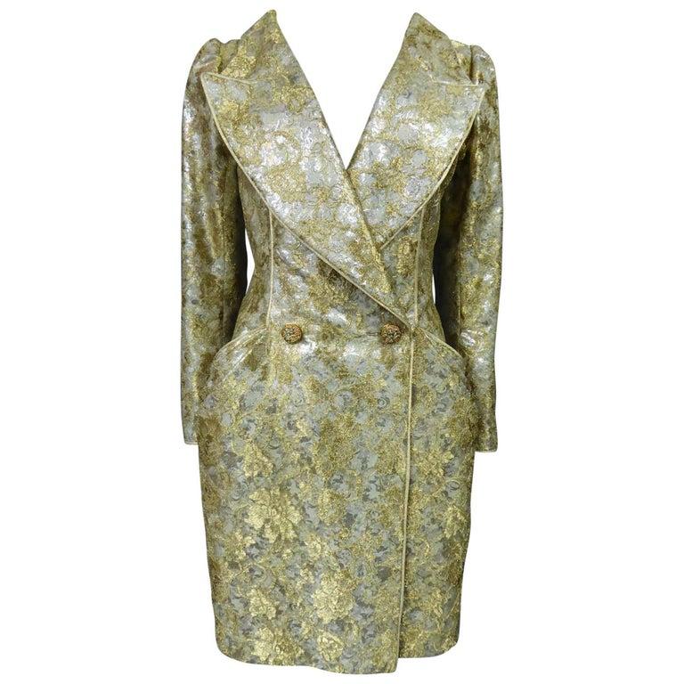 Emanuel Ungaro Couture Evening Dress Circa 1990 For Sale